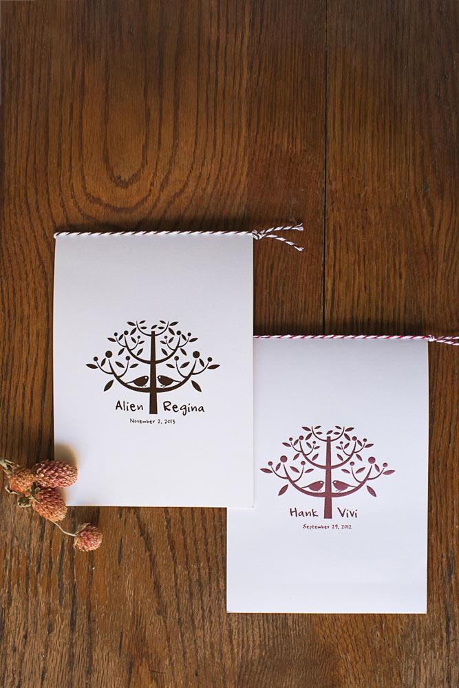 Love Tree-巧克力色